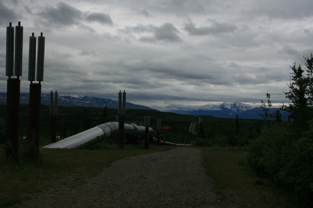 The Trans-Alaska Pipeline System (TAPS), includes the Trans-Alaska Pipeline, 11 pump stations, several hundred miles of feeder pipelines, and the Valdez Marine Terminal