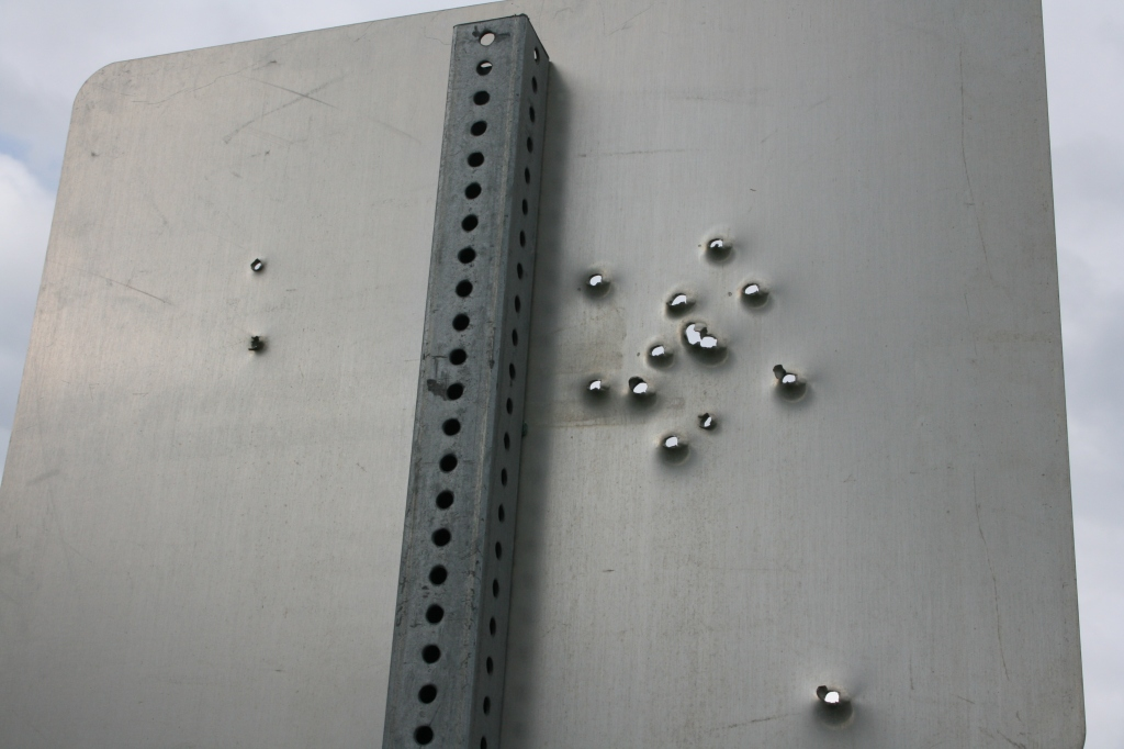 Bullets from the other side