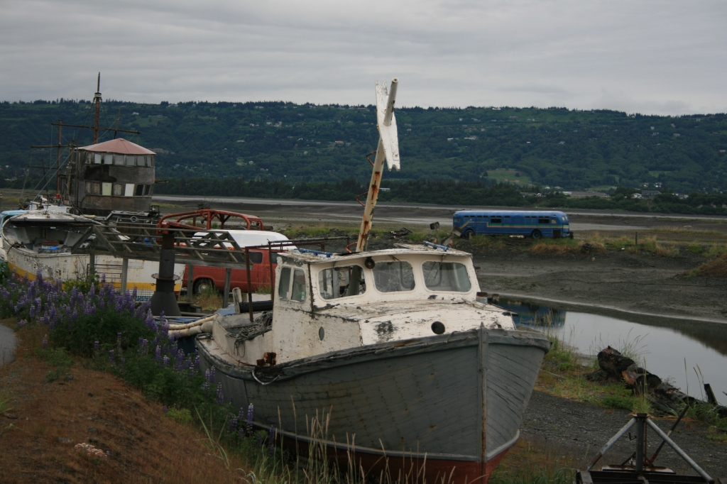 Boats left to rust